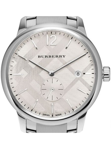 Burberry men's watch BU10004, stainless steel strap