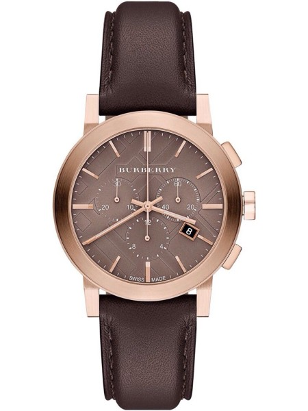 Burberry ladies' watch BU9755, real leather strap