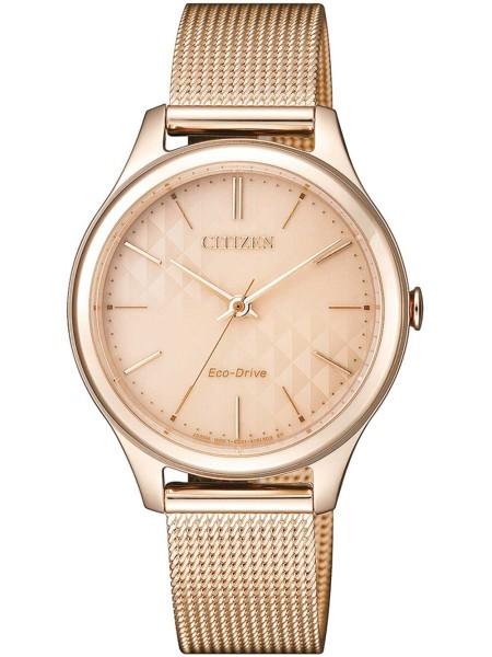 Citizen ladies' watch EM0503-83X, stainless steel strap