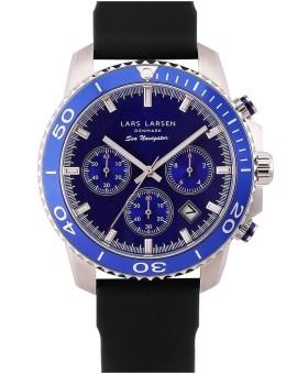 Lars Larsen 134-Blue/S-Black men's watch
