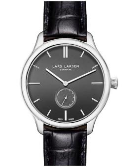 Lars Larsen 122-Grey/Black men's watch
