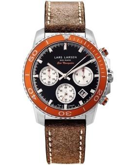 Lars Larsen 134-O-BL/Dark Brown men's watch