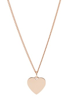 Fossil ladies' necklace JF03021791