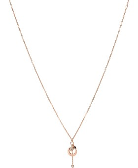 Fossil ladies' necklace JF03551791